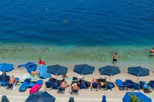 Nos Beach in Symi