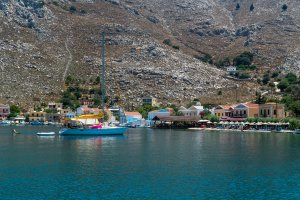 Pedi Beach in Symi